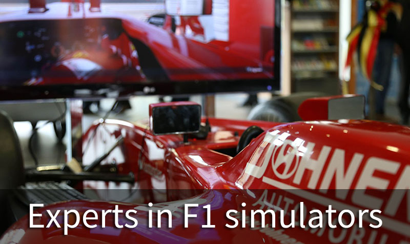 Experts in F1 simulators