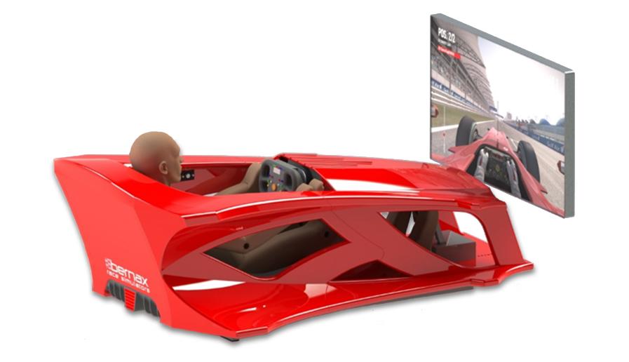 F1 Monocoque Simulator huren