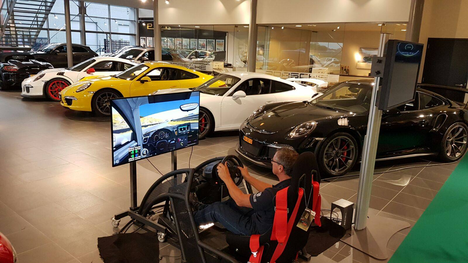 GT / Rally Simulator huren