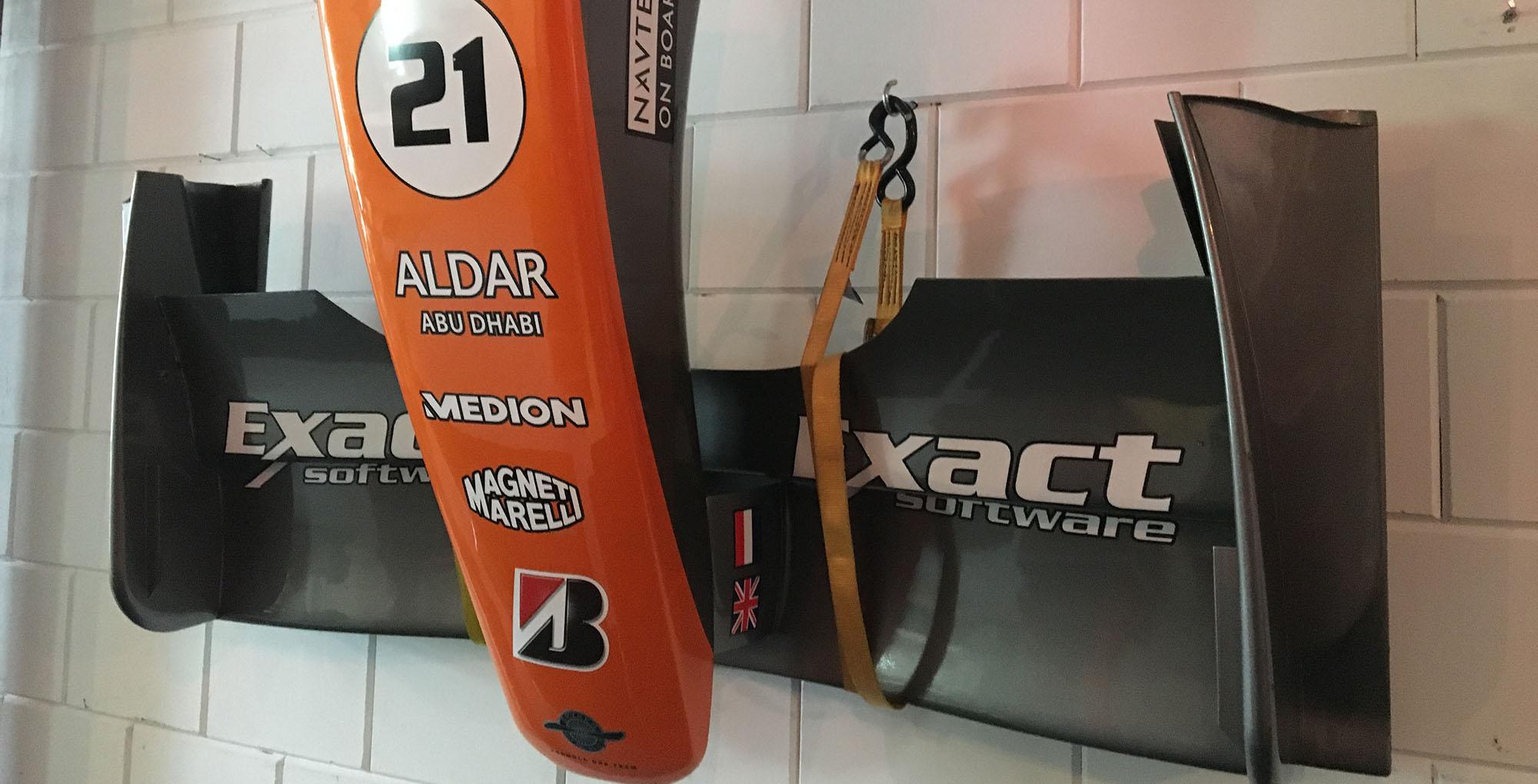 F1 race decoratie bernax race simulators
